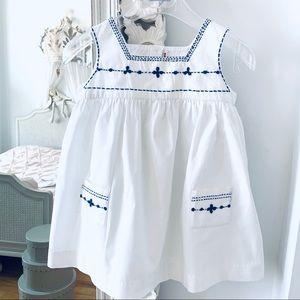 BONPOINT baby girl summer dress